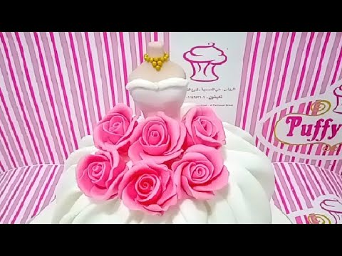 wedding-gown-cake-|-fondant-cakes-|-design-ideas