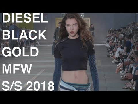 DIESEL BLACK GOLD |  WOMAN / MAN SPRING SUMMER 2018 | FASHION SHOW | UHD 4k