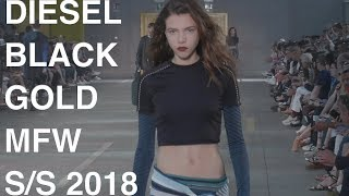 DIESEL BLACK GOLD    WOMAN / MAN SPRING SUMMER 2018   FASHION SHOW   UHD 4k