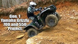 Yamaha Grizzly 700 and 550 Project Upgrade to 2016 Standards and Beyond