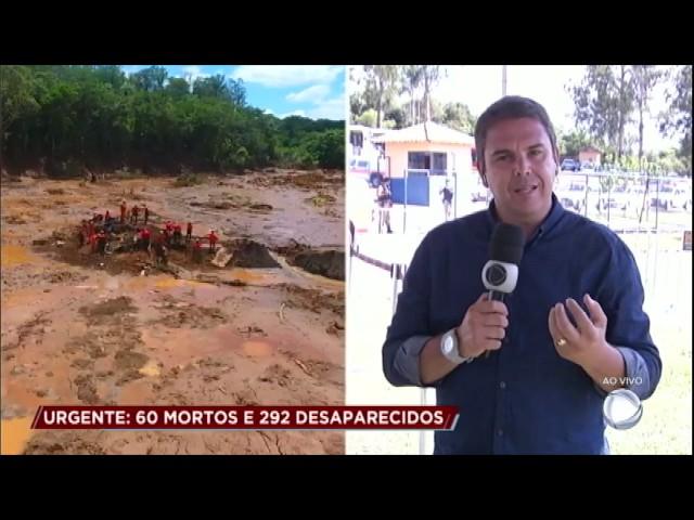 Corpo de Bombeiros resgata corpos de tragédia de Brumadinho