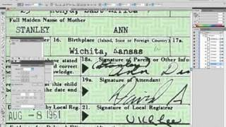 Obama Birth Certificate Faked In Adobe Illustrator - Graphic Artist