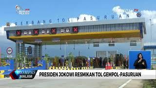 Presiden Jokowi Resmikan Tol Rembang- Pasuruan