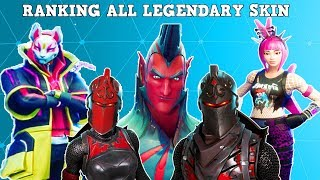 ALL LEGENDARY SKINS IN A BRACKET! (10 BEST LEGENDARY SKINS!) | Fortnite Battle Royale!