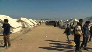 ميركل تدعو إلى حظر جوي لحماية المدنيين بسوريا