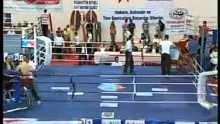 Mehmet AYGÜN   Abdullah Cem AKIN  Türkiye Kick Boks Şampiyonası Samsun