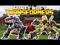 Minecraft'ta TRANSFORMERS! - (Minecraft : ŞANS BLOKLARI SAVAŞI)