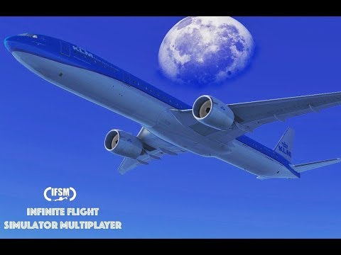 Infinite Flight Global KLM Airlines B777 - 300ER - Los Angeles to London P1