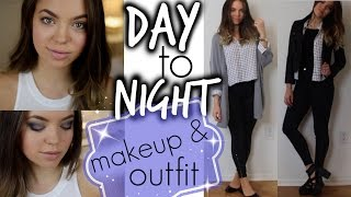 Fall Tutorial: Day to Night Makeup & Oufit! Thumbnail