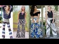 Styling Palazzo Pants Ideas | Lookbook