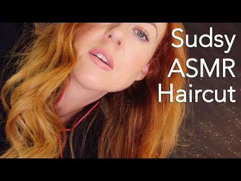 Super Sudsy Relaxing ASMR Haircut ✂️ Sleep Spa, Wash, Massage