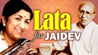 Best of Lata Mangeshkar for Jaidev - Top 5 Lata songs for Music Director Jaidev