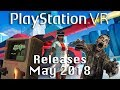 PSVR Releases May 2018 | 10 new games this month!