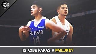 Career ni Kobe Paras, Palpak nga ba? | What happened?