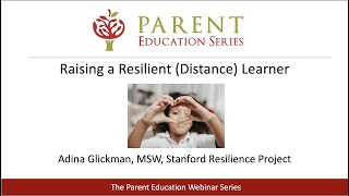 Raising a Resilient (Distance) Learner