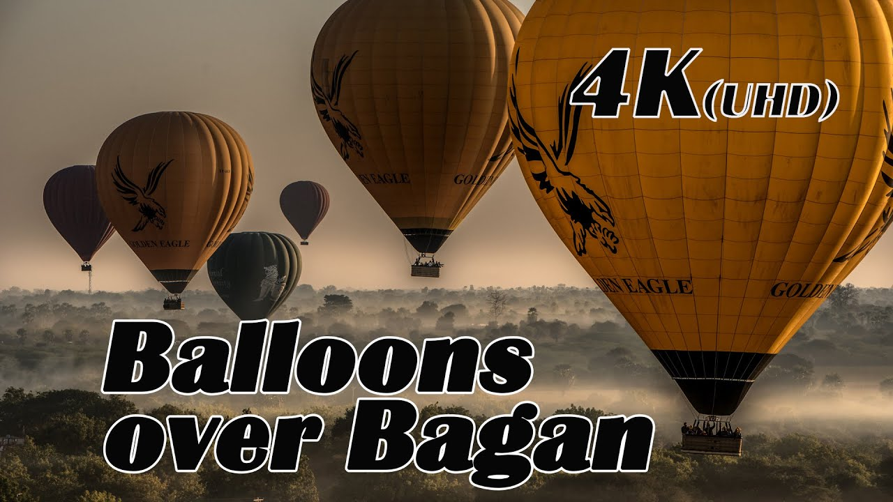 Balloonride over Bagan