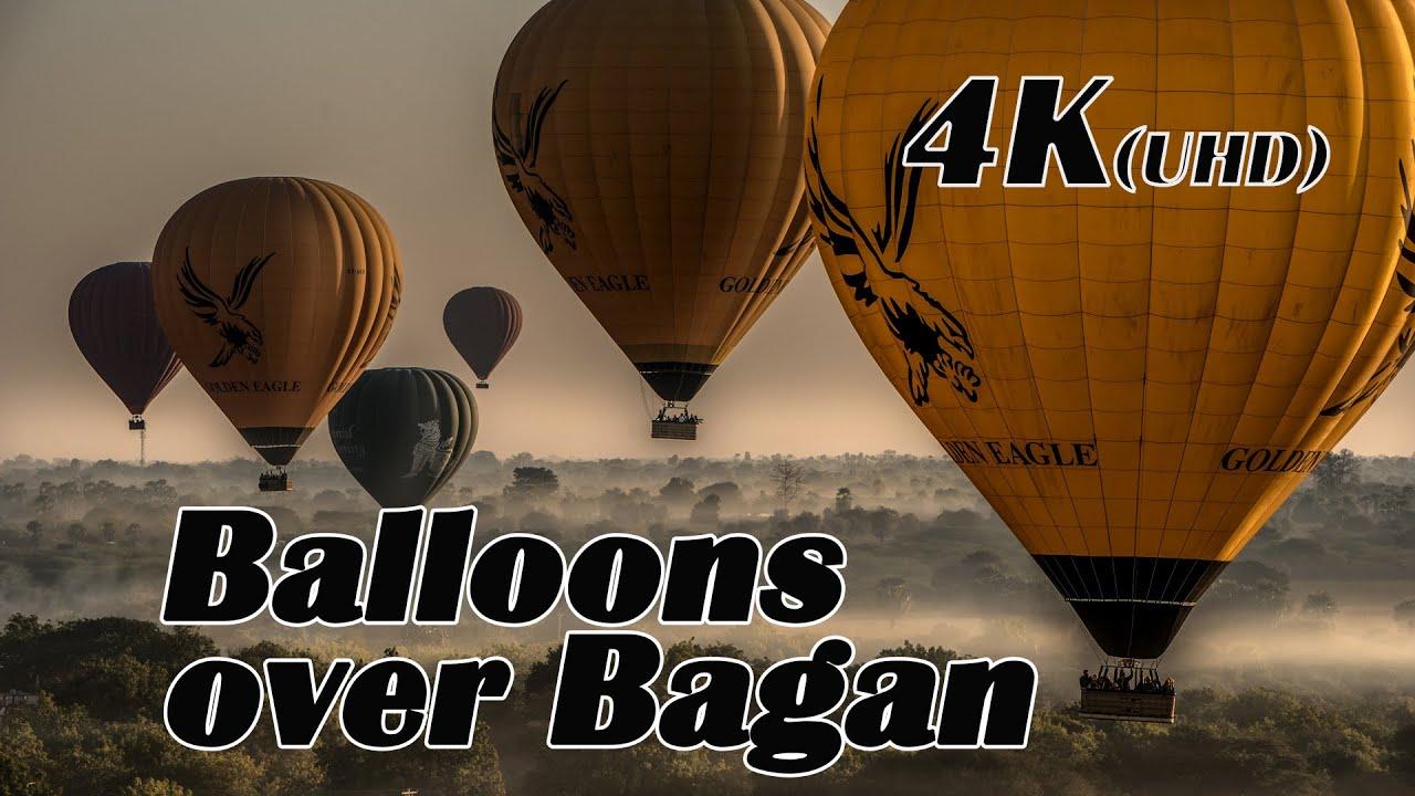 Balloonride over Bagan