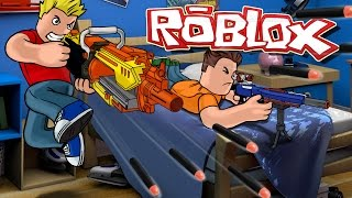 Roblox | NERF GUN WARS - Nerf FPS Roblox! (Roblox Adventures)