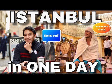 One Day Itinerary In Istanbul Turkey ( Pinoy Turkey Travel Vlog )