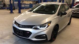 2018 Chevrolet Cruze LT Silver Ice Metallic Roy Nichols Motors Courtice ON