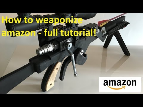 +500 fps Homemade Airbow - All parts from amazon!
