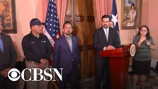 David Begnaud questions Puerto Rico's governor
