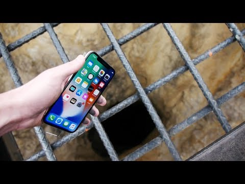 Thumbnail: Dropping an iPhone X Down 4000 FT Deep Hole! - What's In There?