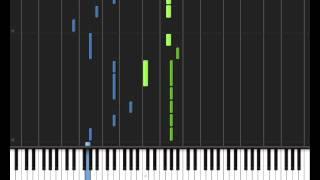 Lady Gaga - Paparazzi Piano Tutorial (NEW) - MIDI + SHEETS