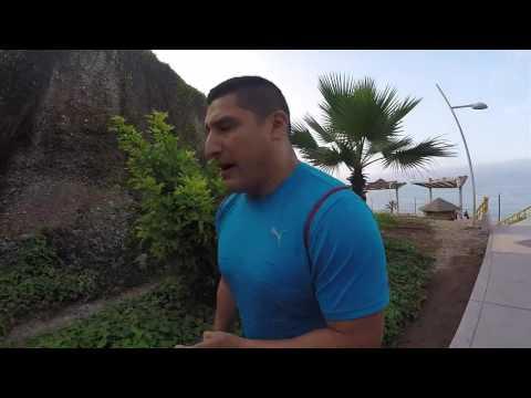 El viaje de David Flecha: Entrenamiento de la selección de judo de Perú