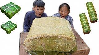 Bà Tân Vlog - Làm Bánh Chưng Siêu To Khổng Lồ Nặng 50Kg Đón Tết Canh Tý 2020