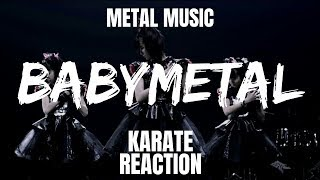 Have you heard the song Karate by the band BABYMETAL? If you haven'...