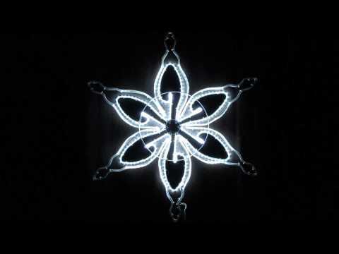 【LEDモチーフ】SMDモチーフスノーフレークN04