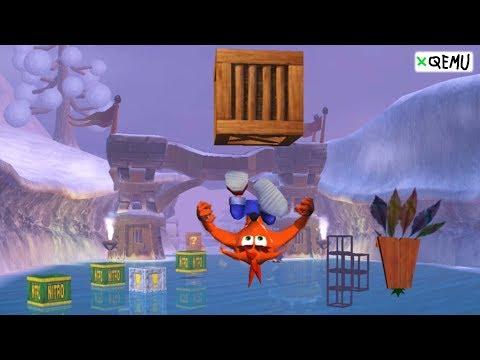 XQEMU Xbox Emulator - Crash Bandicoot: The Wrath Of Cortex Ingame / Gameplay! (Perf-wip Branch)