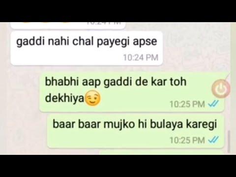 Download Besharm Devar Bhabhi Ko Manate Hue Late Night Chat - - Hot Devar Bhabhi Late Night Chatting