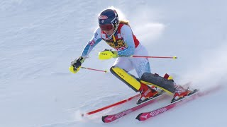 Mikaela Shiffrin - Slalom #2 - Run 1 - 2015 Nature Valley Aspen Winternational