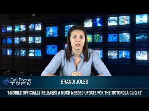 Motorola rolls out Cliq XT Update
