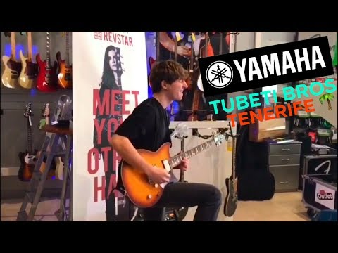 INVADING THE MUSIC STORE•YAMAHA COMPETITION•TENERIFE VLOG