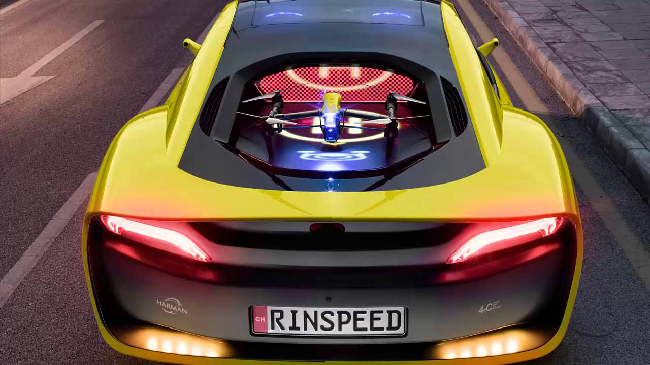 Rinspeed Etos Is An Autonomous I8 With Its Own Drone Youtube