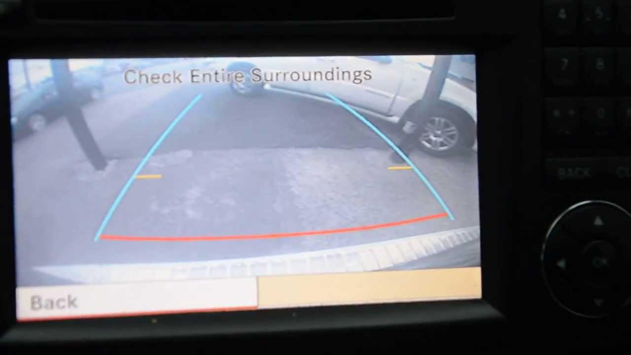 Mercedes benz backup camera through factory comand center youtube cheapraybanclubmaster Images