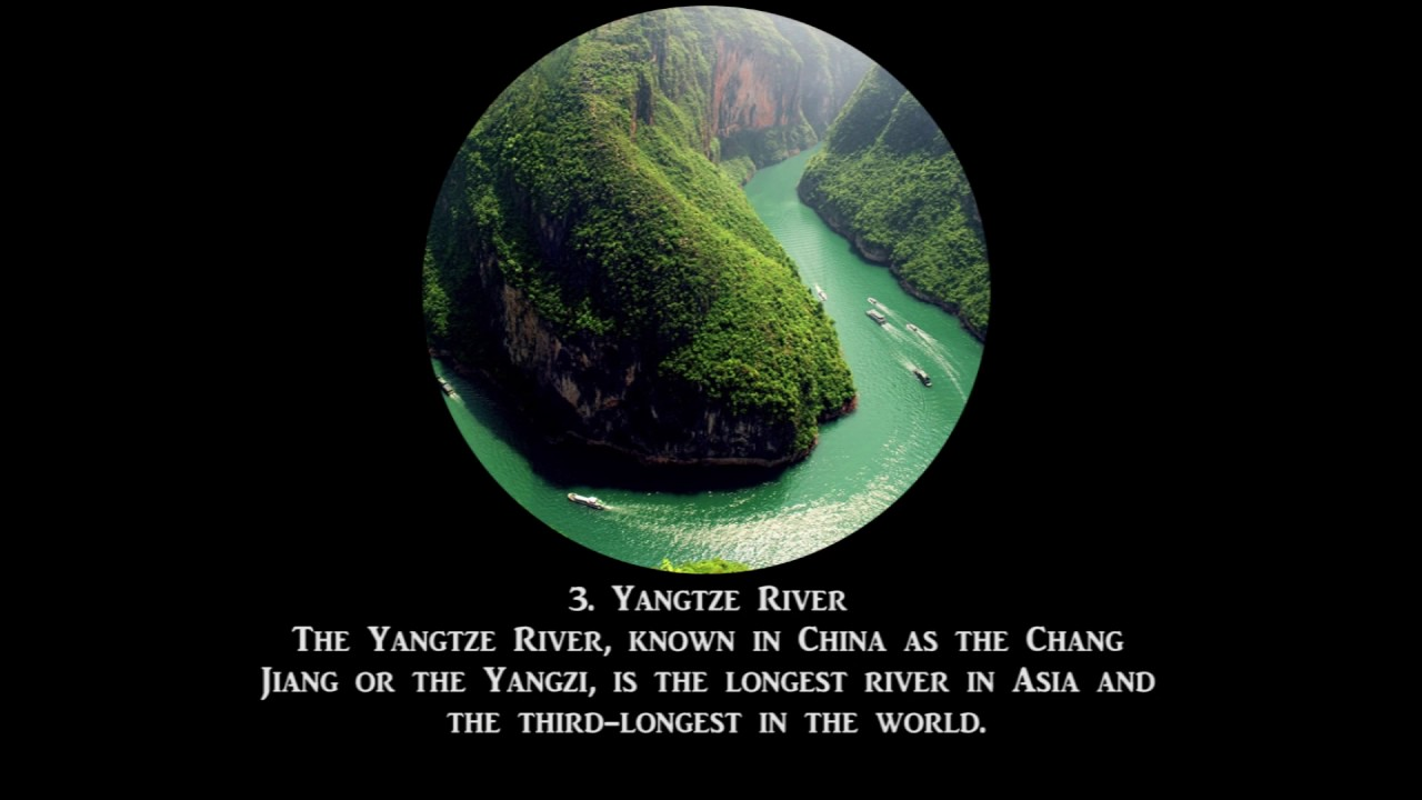 Top Largest Rivers YouTube - 5 largest rivers