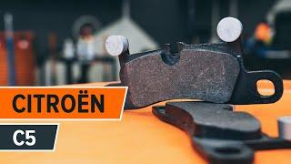 Skift Bremseklods CITROËN C5 II Break (RE_) - online gratis video