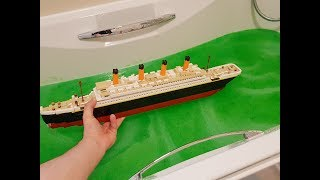 DO LEGO BOATS FLOAT IN SLIME ????