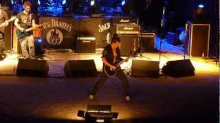 "John Steel - Sometimes I feel like screaming (Deep Purple Cover) ""PolineROCK fest 2012"""
