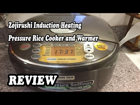 review-zojirushi-induction-heating-pressure-rice-cooker-&-warmer-2020