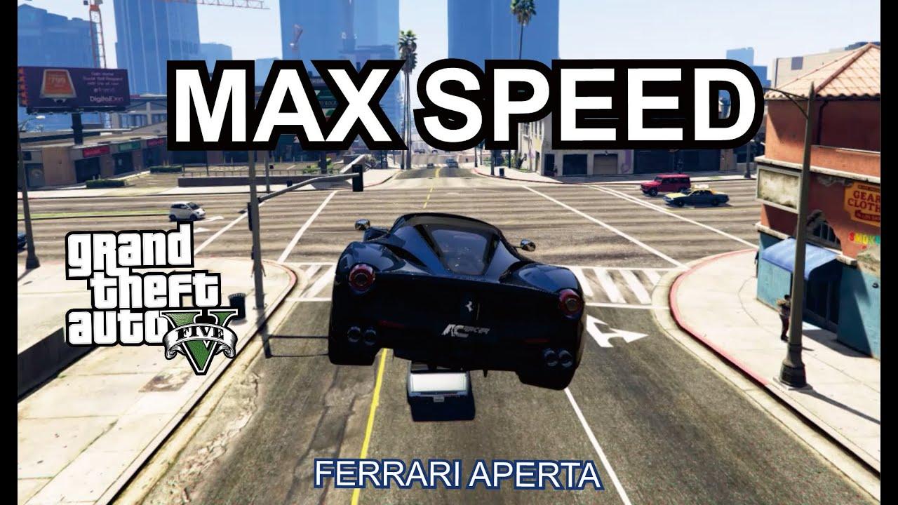 GTA 5 test Driving : Ferrari Aperta 2017