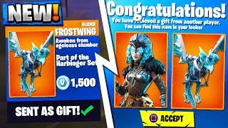 'NEW' GIFTING SYSTEM RELEASE DATE in SEASON 6!? Fortnite Saison 6 Gifting System Leaks!