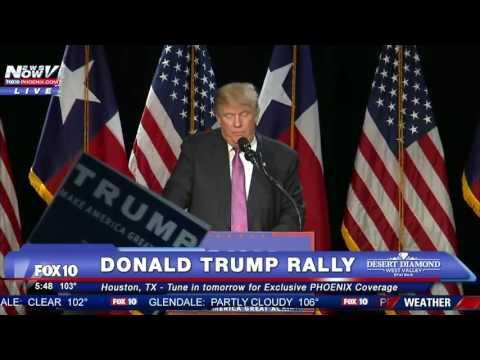 Donald Trump LIVE Houston Rally