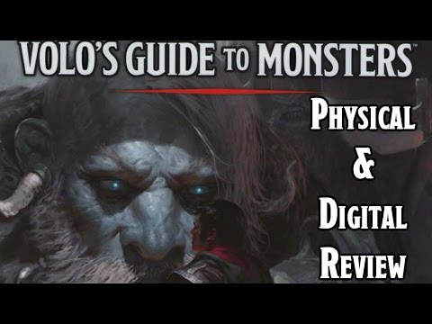 Dungeons & Dragons 5e Volo's Guide To Monsters Digital Review