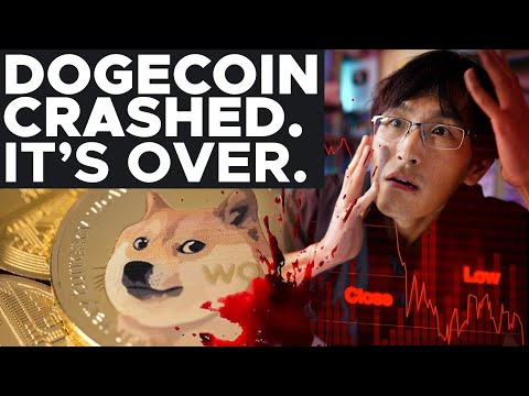 WHY DOGECOIN CRASHED. IT'S OVER... MUCH WOW, MY LIFE SAVINGS.