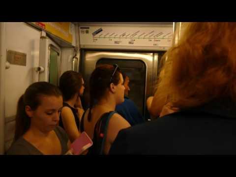 Riding Paris Metro Line 6 from Nationale to Montparnasse-Bienvenüe